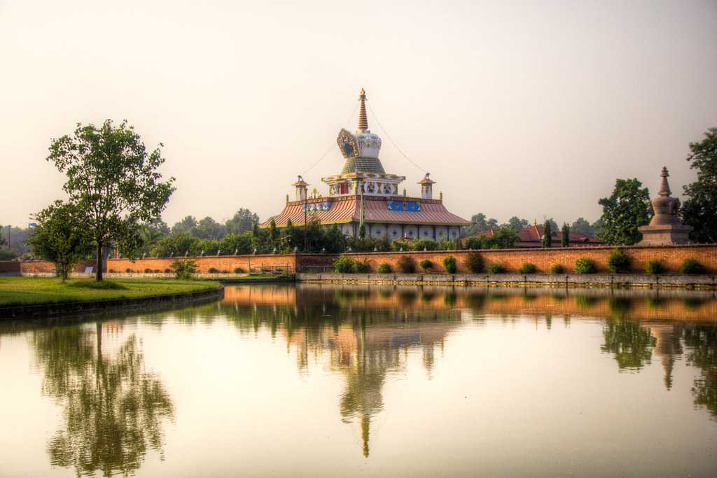 The gateway to a spiritual and adventurous experience; Lumbini, an architectural landscape of Nepal.