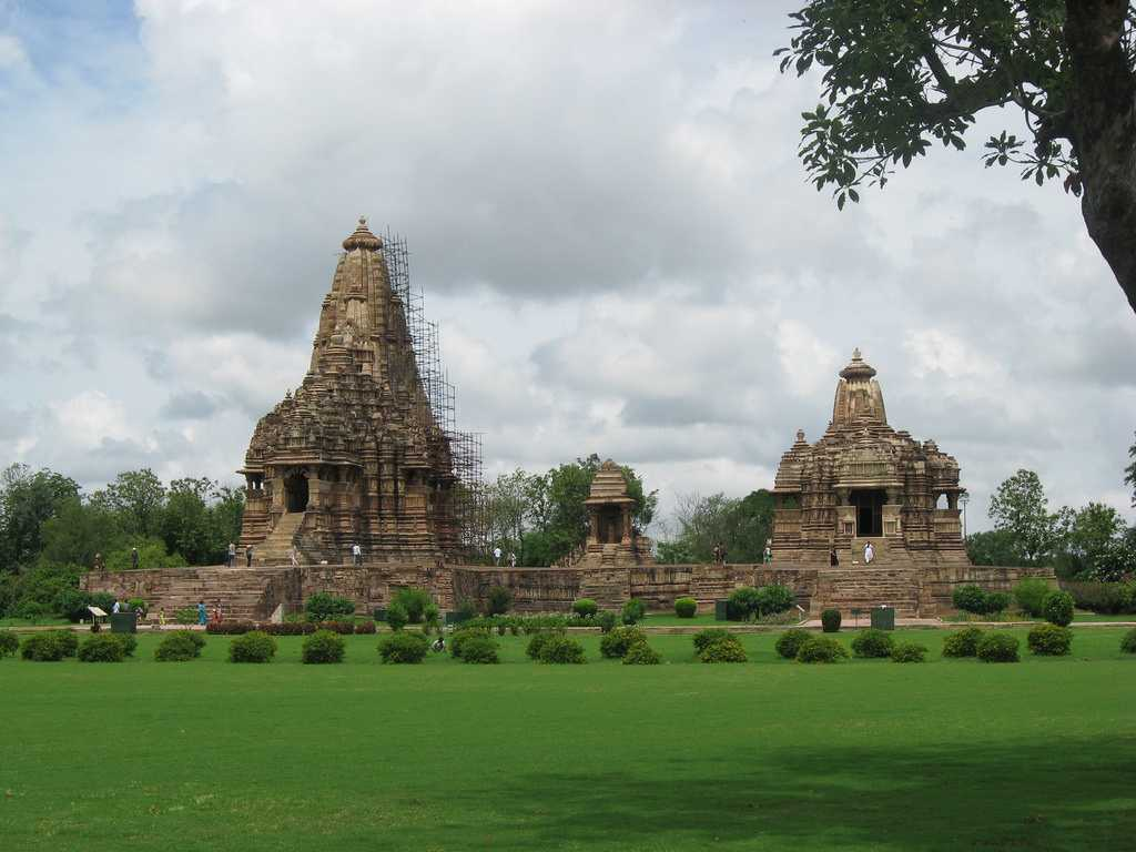 Monsoon Season, Khajuraho, Temples