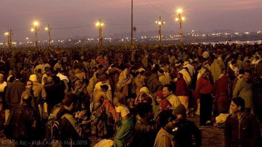 Kumbh Mela bathing Ghat