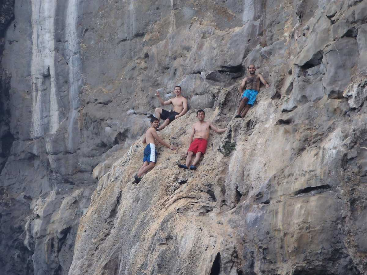 Rock Climbing in Krabi