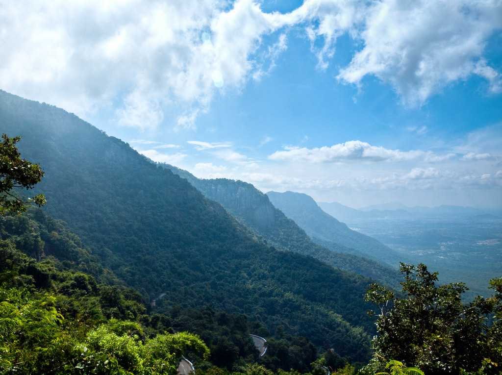 A view from Yercaud Hills