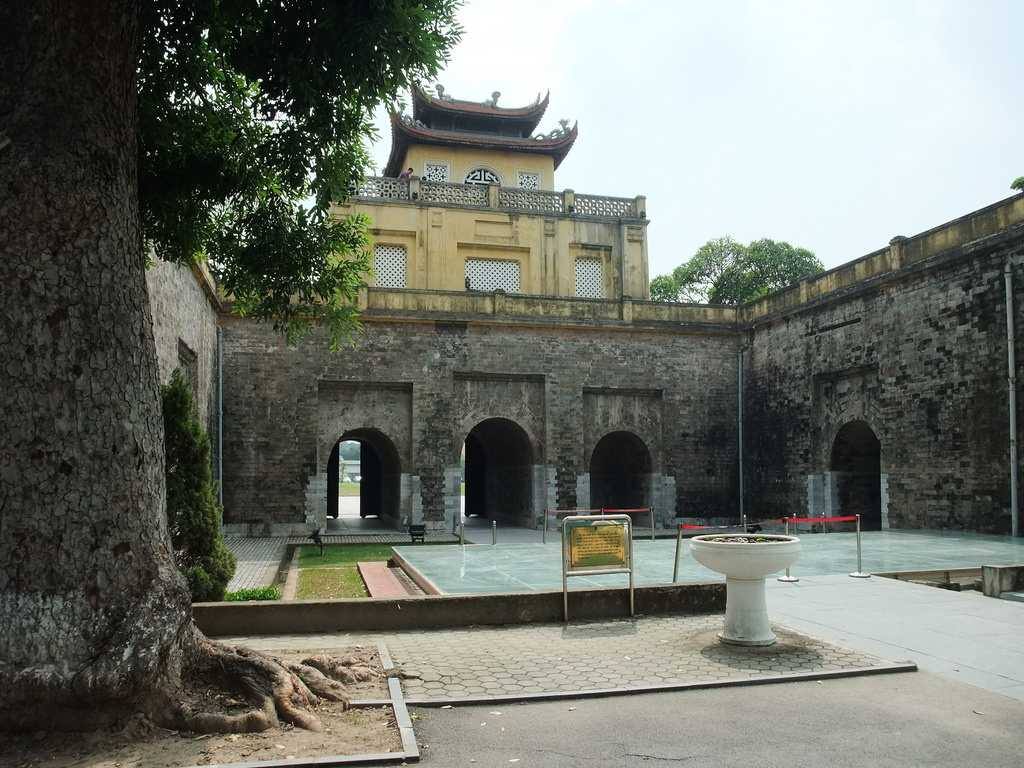Central Sector of Imperial Citadel of Thang Long Hanoi