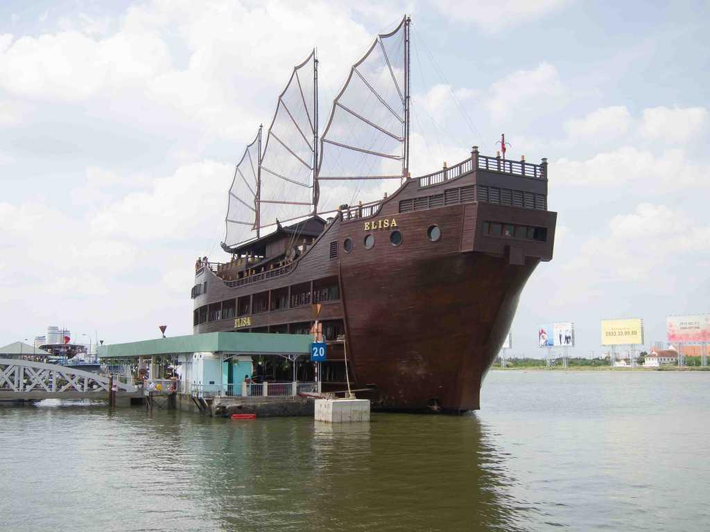 Elisa Floating Restaurant on Saigon River