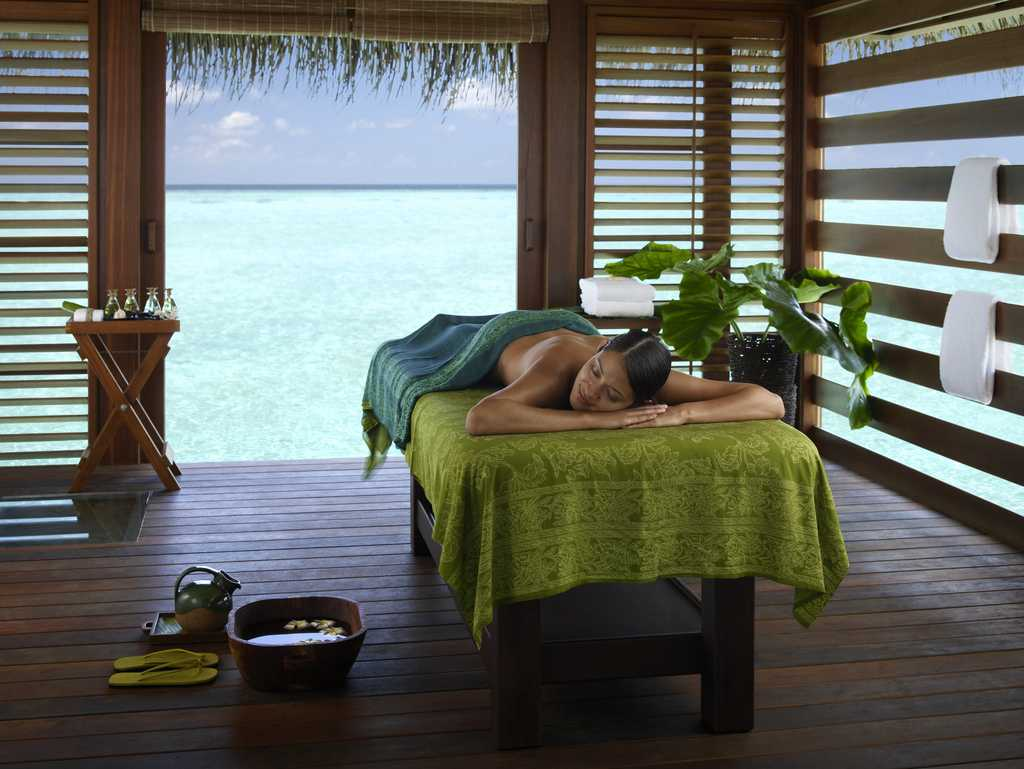 Spa and Ayurvedic Retreat at Four Seasons Resort in Maldives