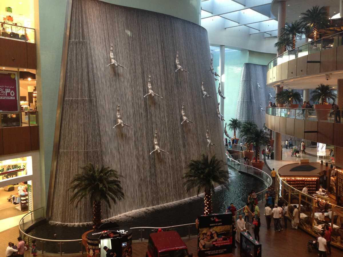 Dubai Waterfalls
