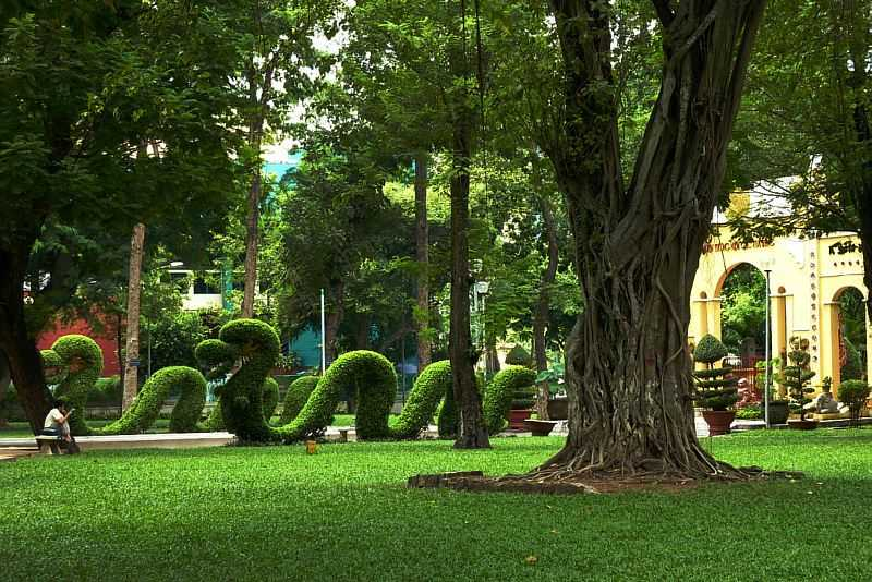 Tao Dan Park Ho Chi Minh City Vietnam