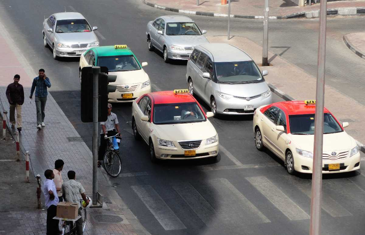 taxis are safe in Dubai