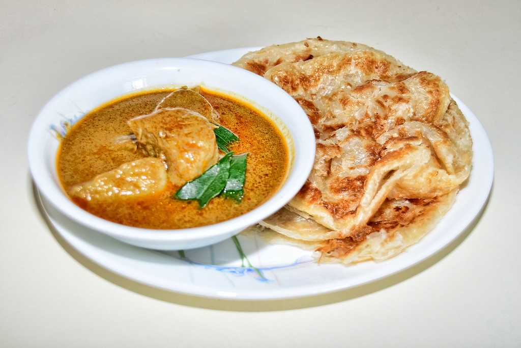 Prata, Food and drinks in Singapore