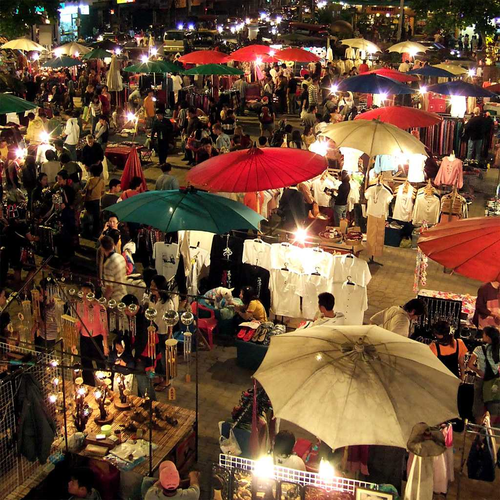 Sunday Market Opposite Tha Phae Gate, Chiang Mai