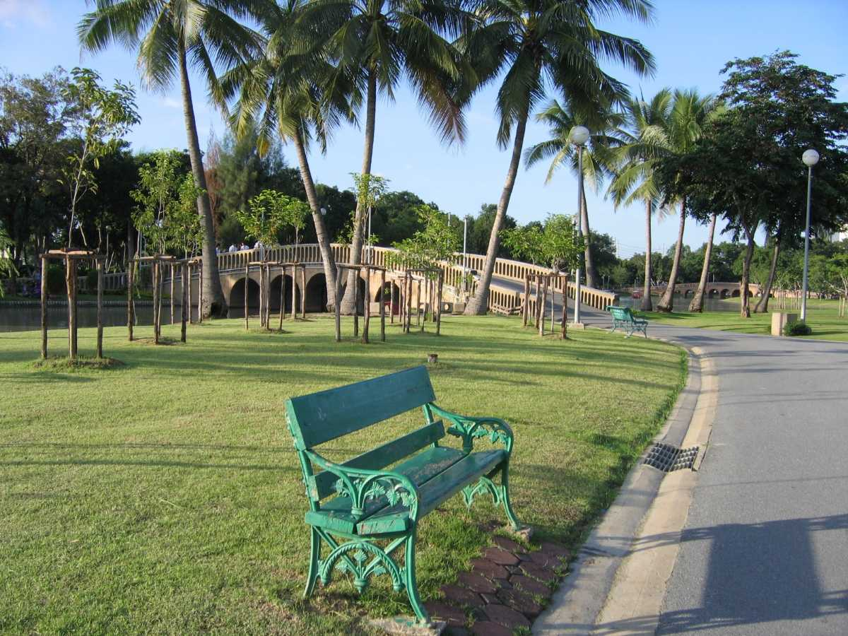 parks in bangkok, chatuchak park