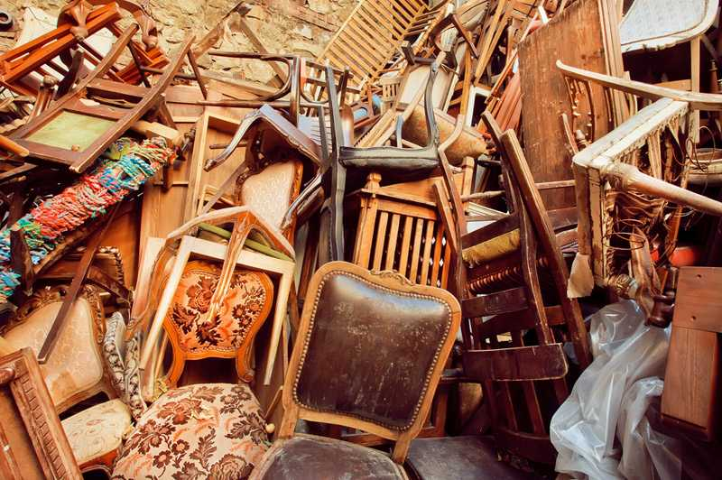 Throwing Out Old Furniture In South Africa