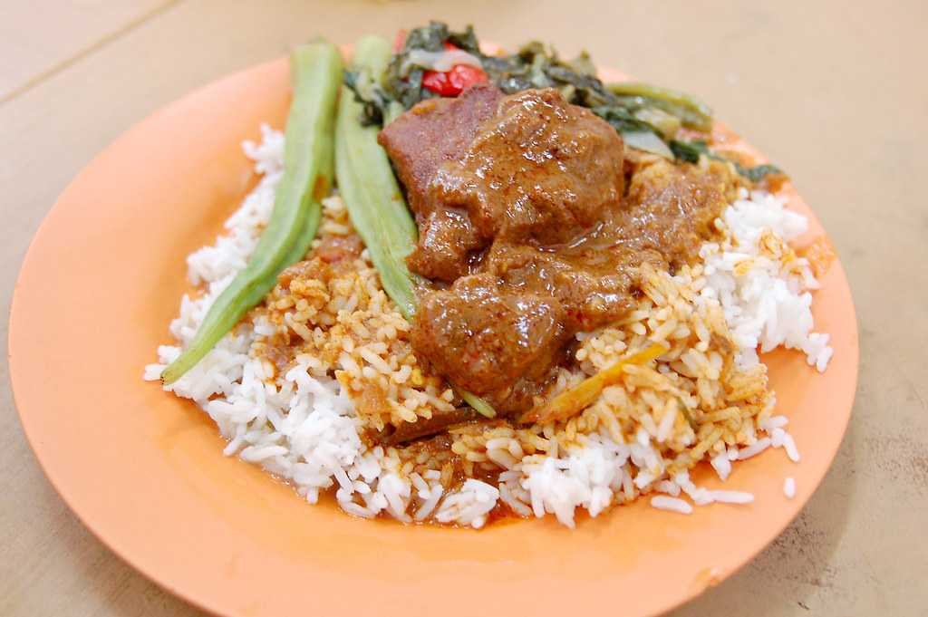 Nasi Kandar, Street Food in India