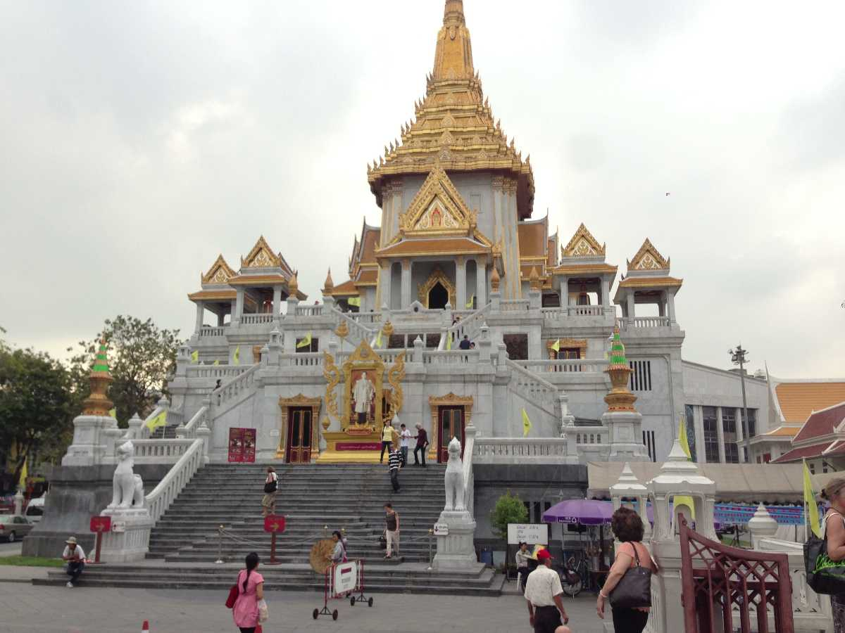 Wat Traimit - the temple of Golden Buddha