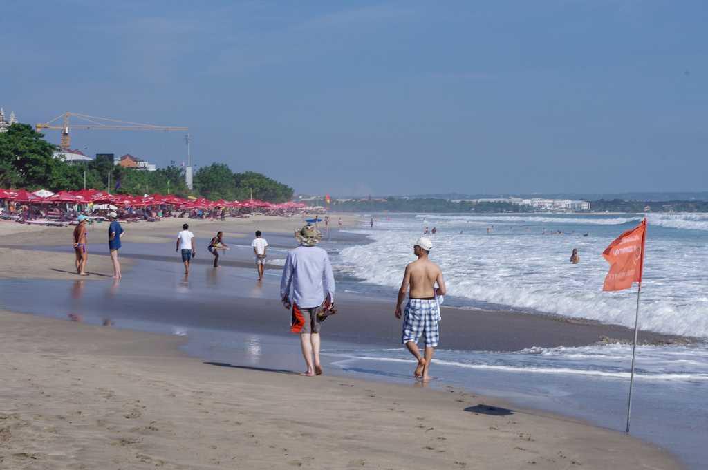 Legian Beach in Bali, Indonesia