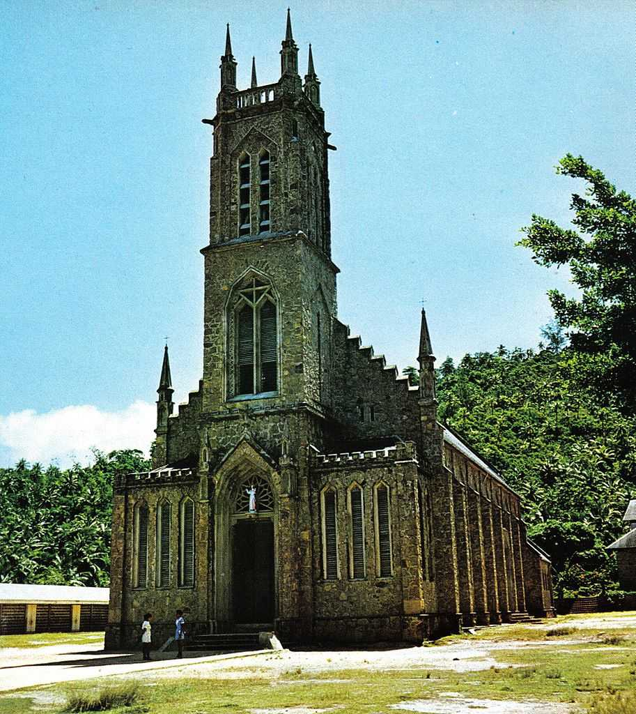St. Francoise d'Assise, Churches in Mauritius