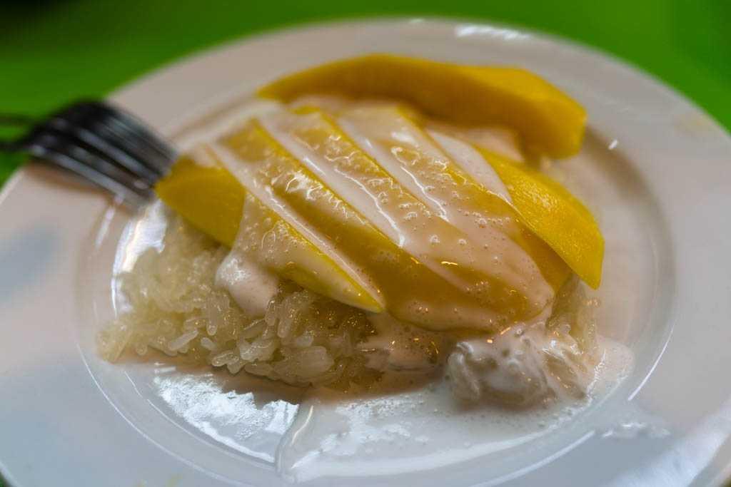 Mango Sticky Rice, Thai Desserts