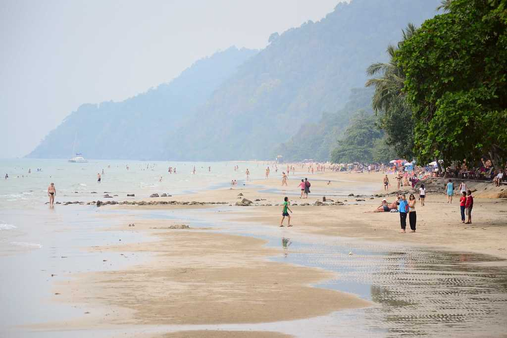 White Sand Beach is one the best spots to experience the nightlife in Koh Chang.