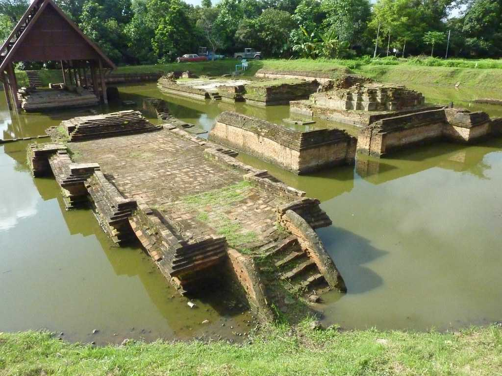 Sunken Temple at Wiang Kum Kam, Chiang Mai