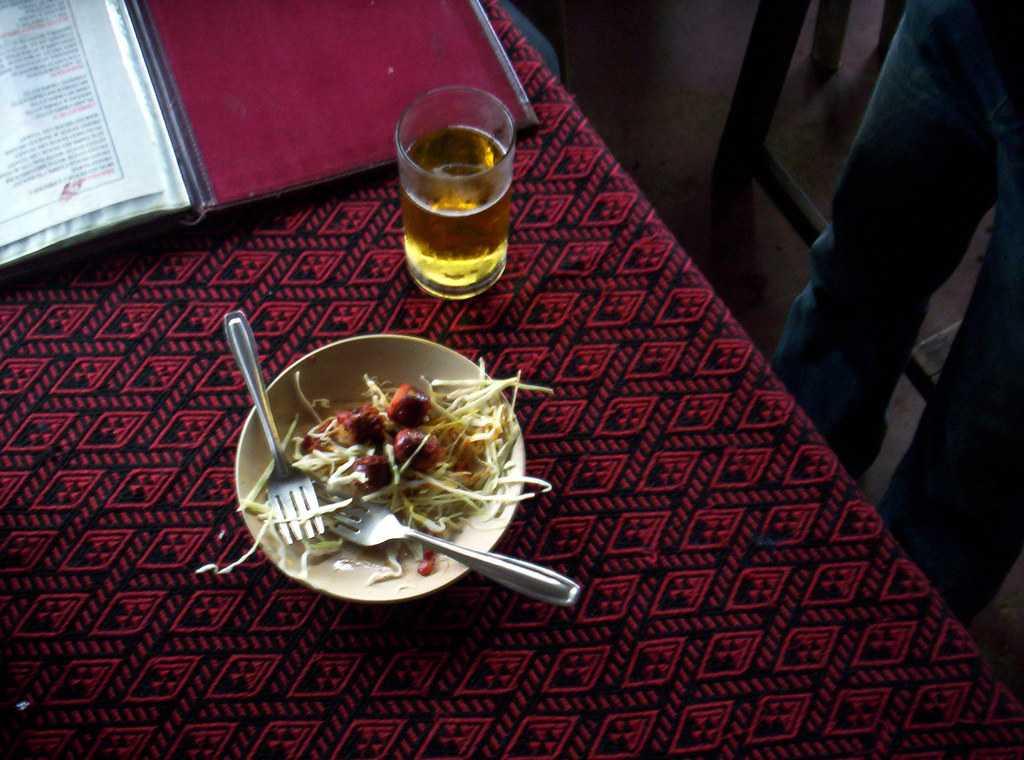 Goan Sausages, Street food in goa