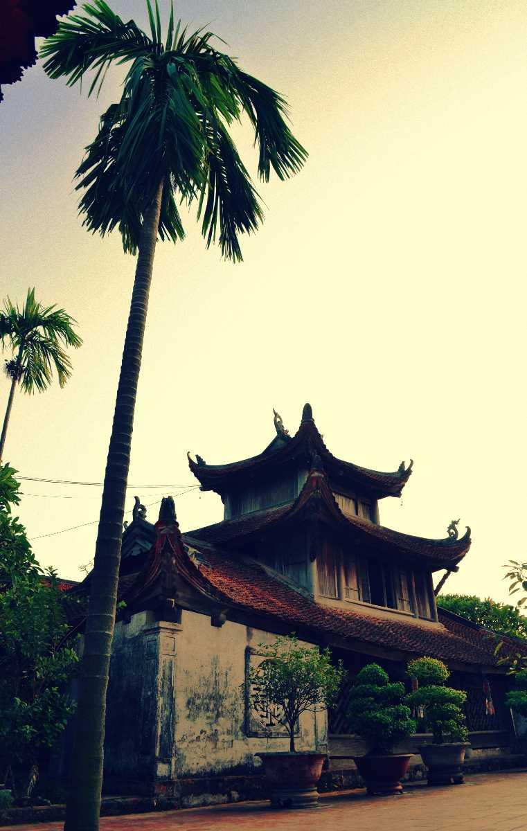 Pagoda But Thap Hanoi Vietnam