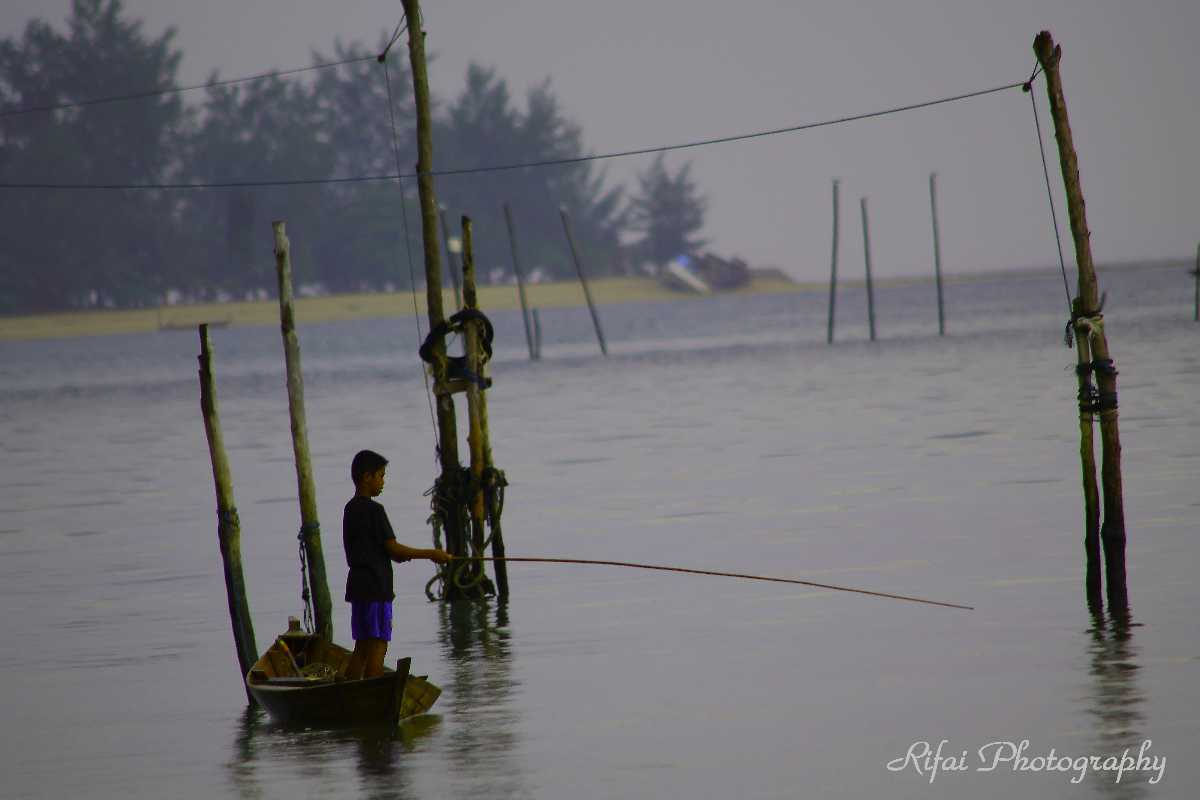 Fishing in Batam