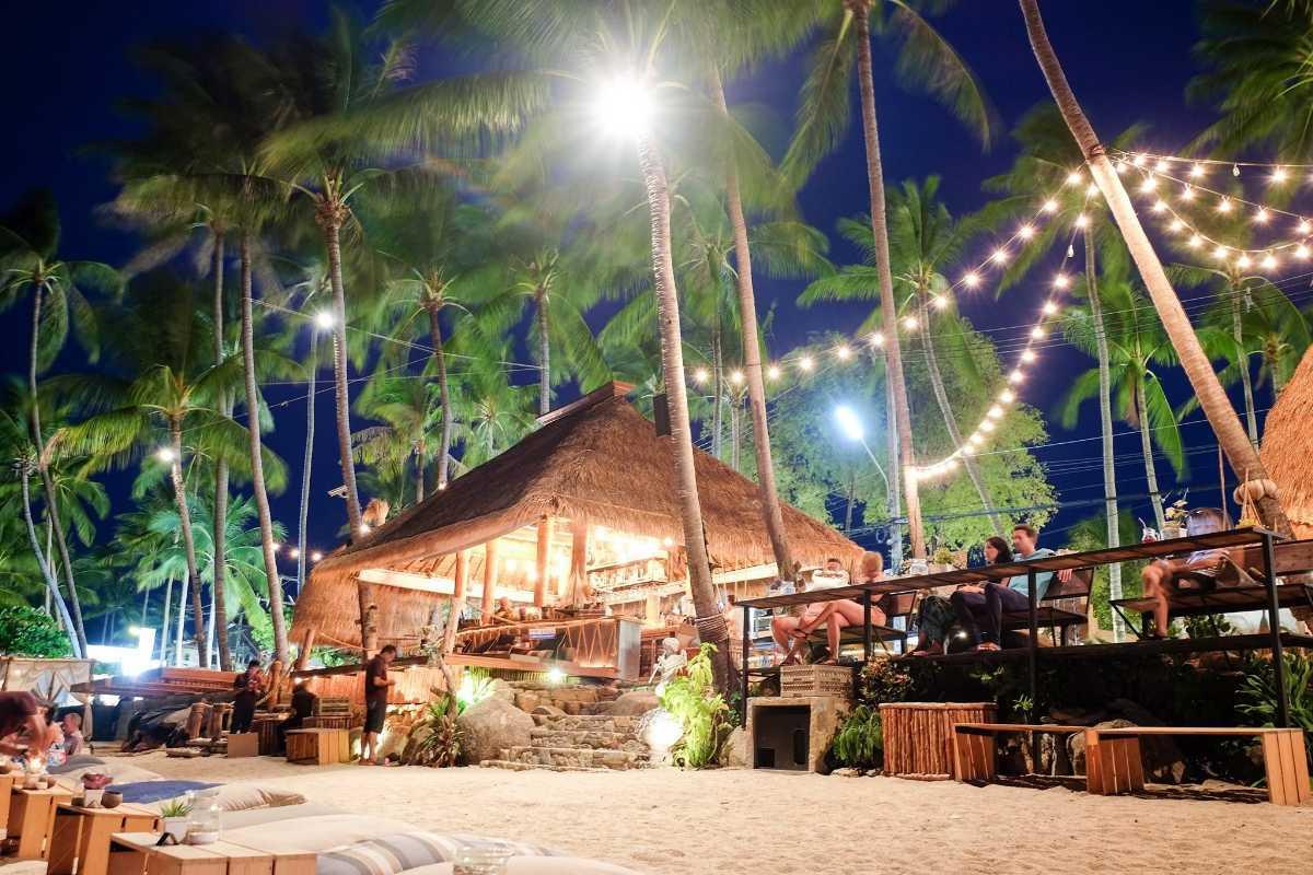 Fisherman's Village Koh Samui at Night