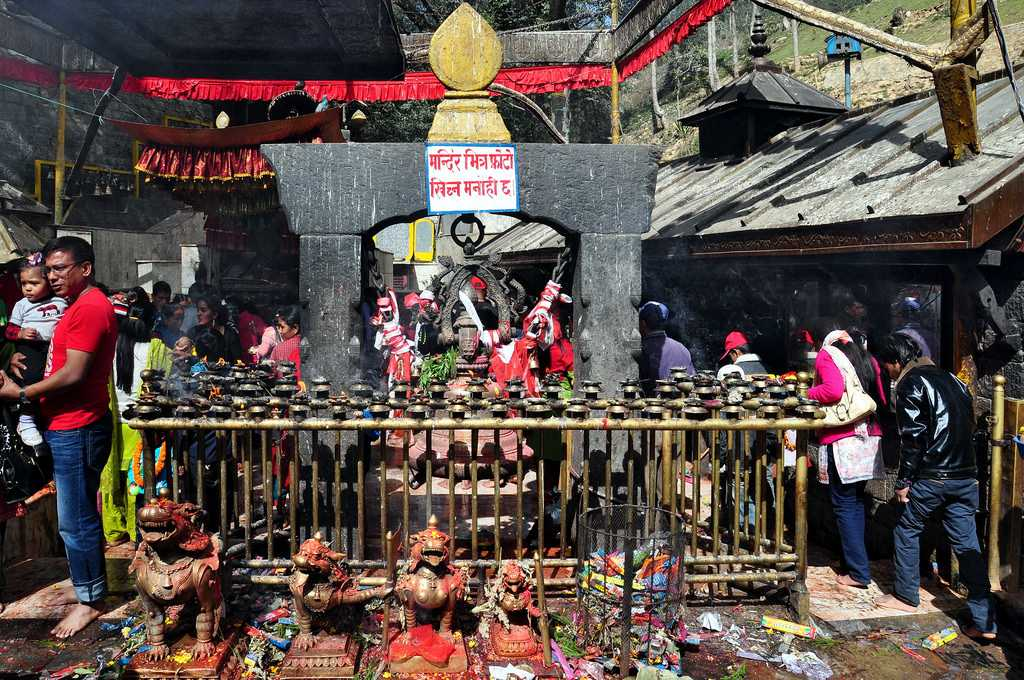 Dakshinakali Temple Kathmandu