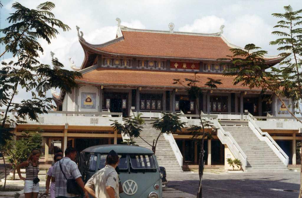 Vinh Nghiem Pagoda Ho Chi Minh City Vietnam