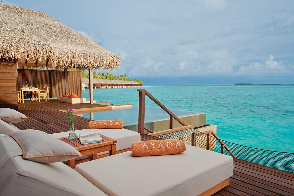 Ayada Maldives Resort Overwater Bungalows in Maldives