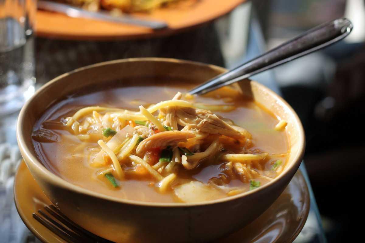 A bowl of Thukpa