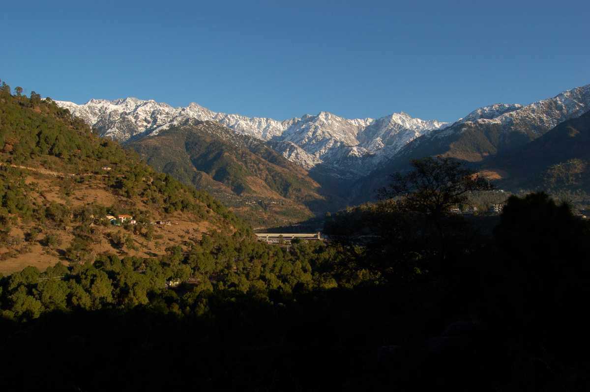 A view of Palampur, Himachal