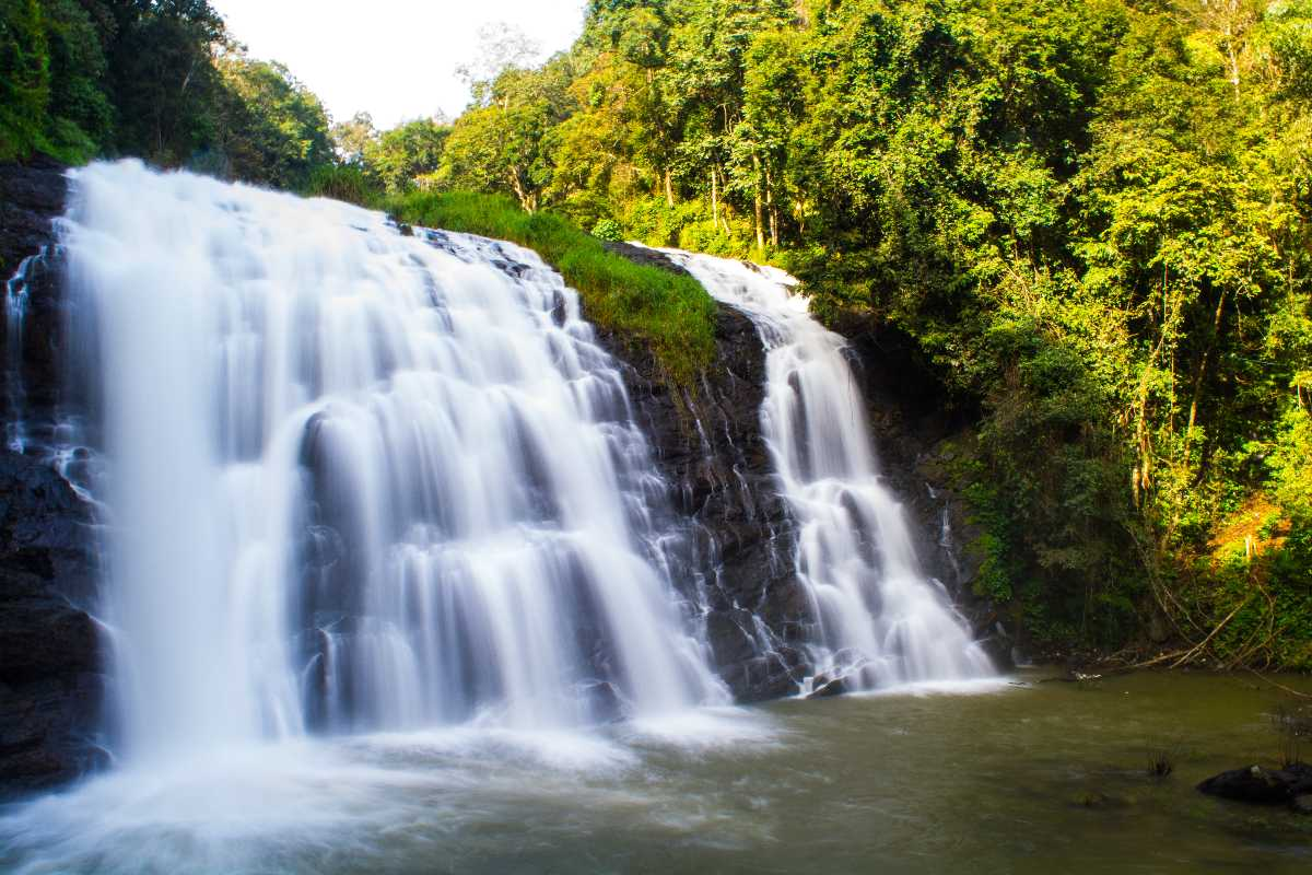 Waterfall at Coorg