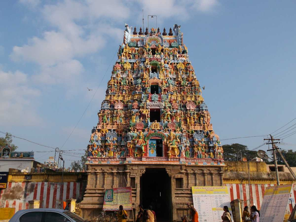 One of the many Navagraha temples in India
