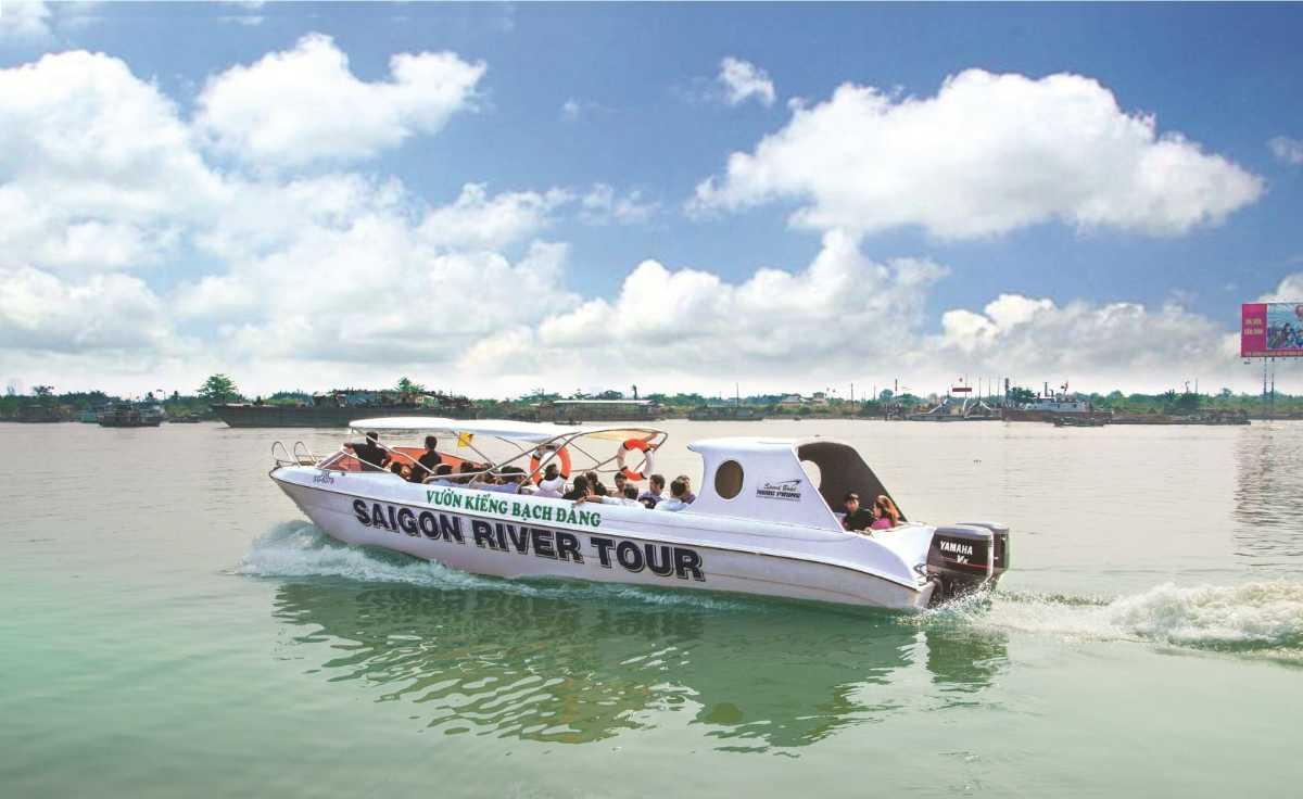Saigon River Tour Boat