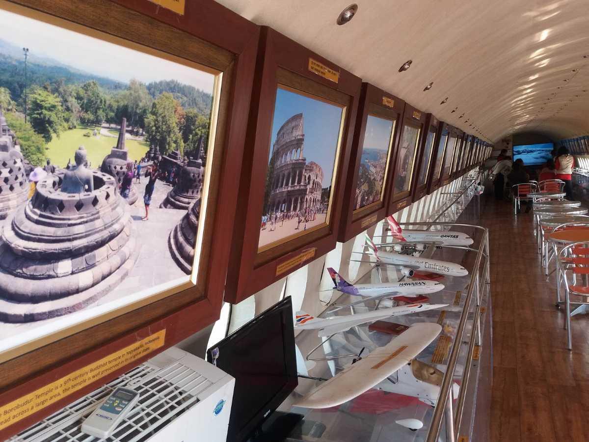 Inside Aviation Museum, Museums in Kathmandu, Nepal