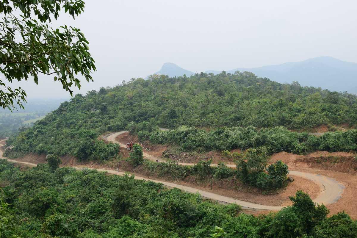 Ajodhya Pahar Pathway at Purulia
