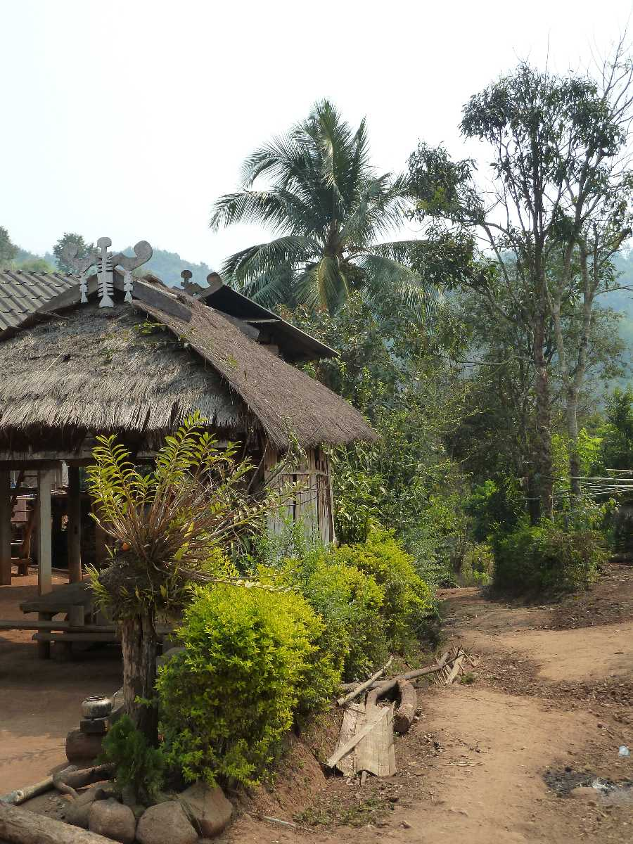 The Akha Hill tribe village, Chiang Rai, Thailand