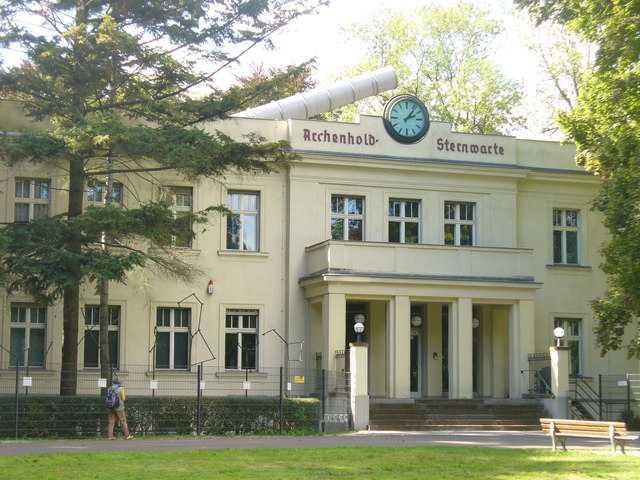 Archenhold Observatory in Treptower Park, Berlin