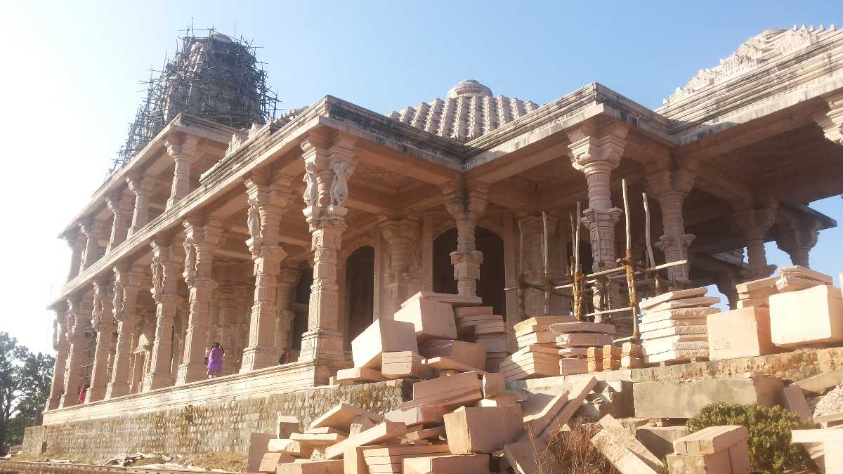 Vishnu Temple in Amarkantak