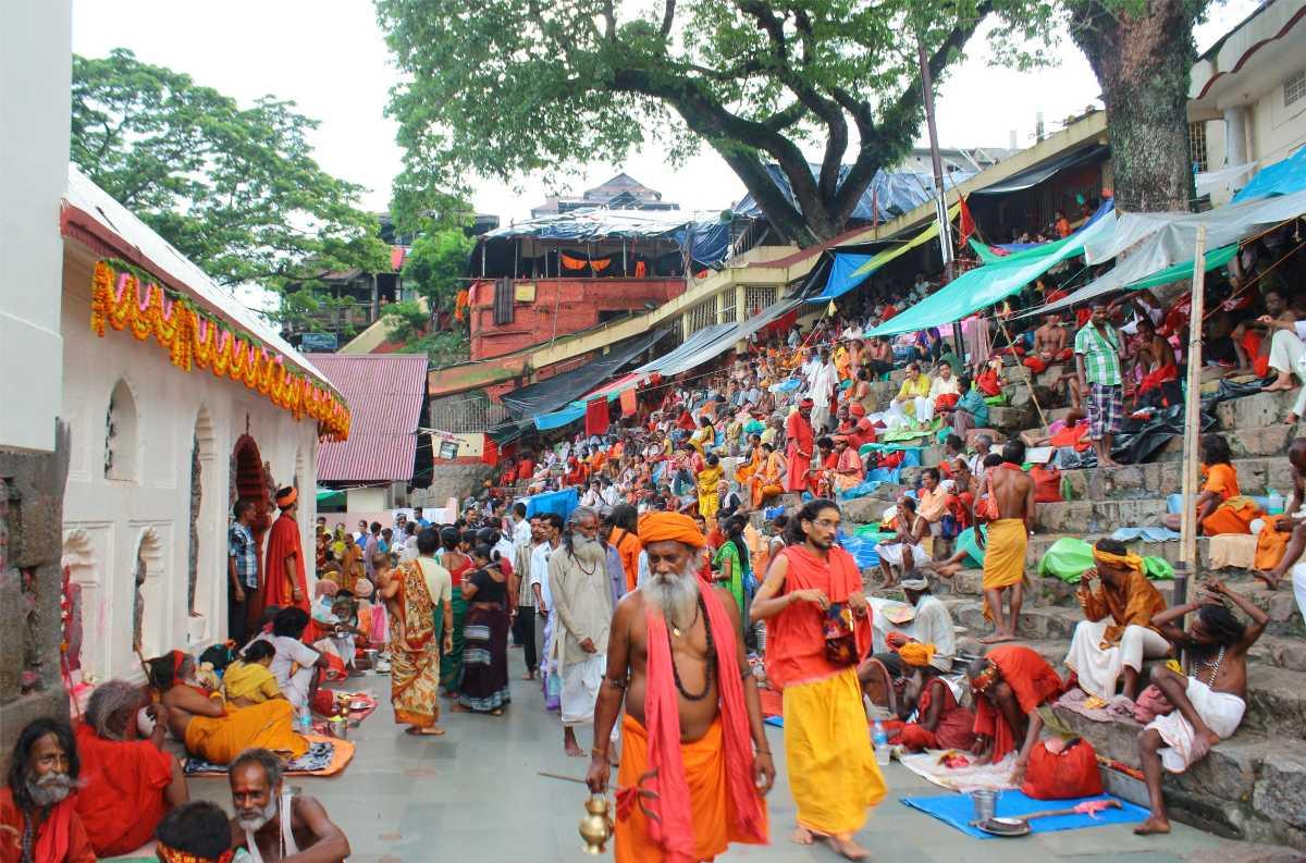 Pilgrims and Devotees at Maa Kamakhya Temple