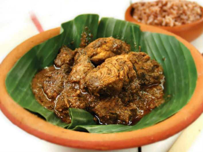 Ambul Thiyal, Food in Colombo