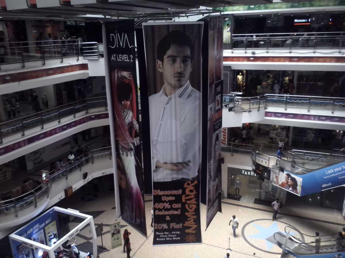 Ampa Skywalk, Malls in Chennai