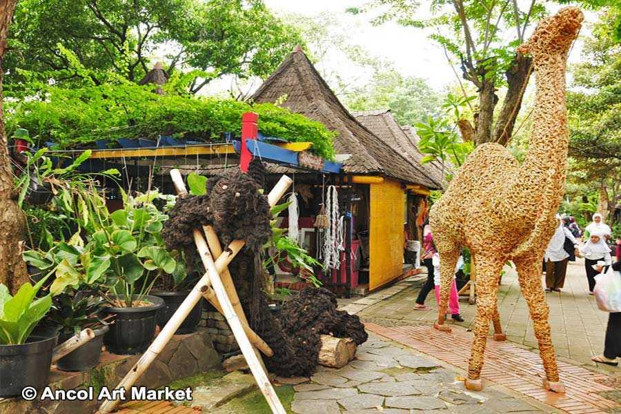 Ancol Art Market, Shopping in Jakarta