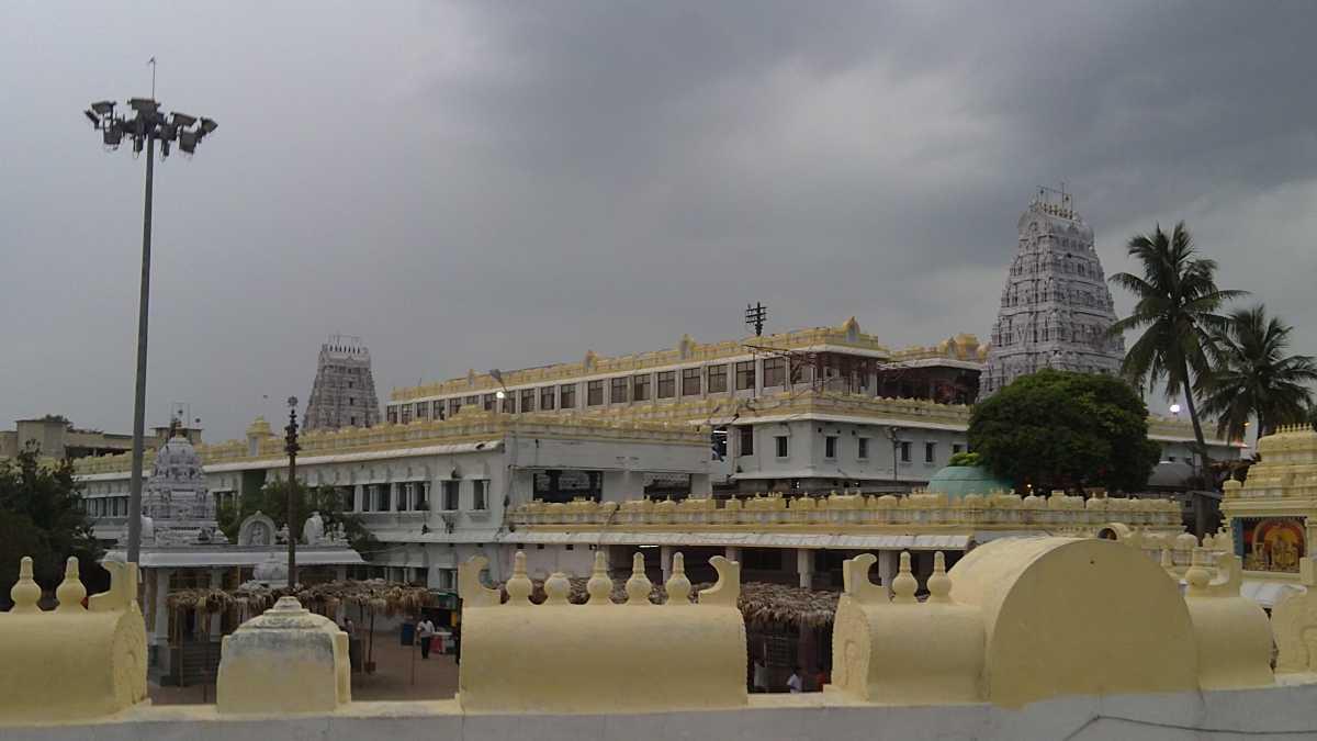 Monsoon season, Annavaram