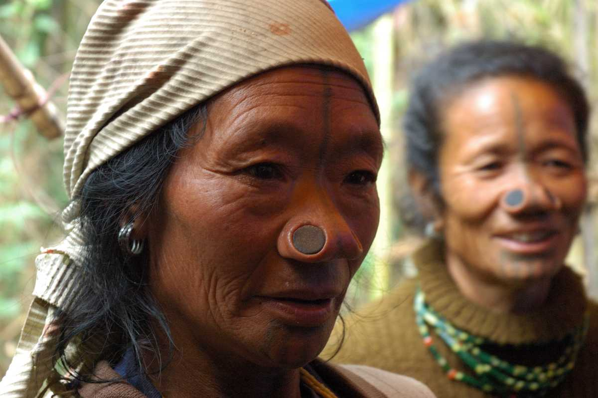 Tribal Women of Ziro