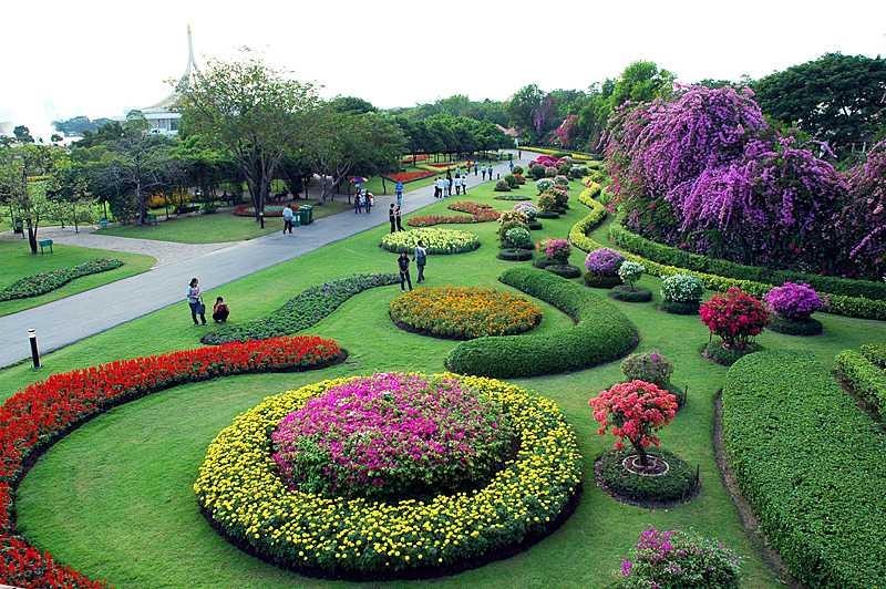 Botanic Garden at King Rama IX Park Bangkok