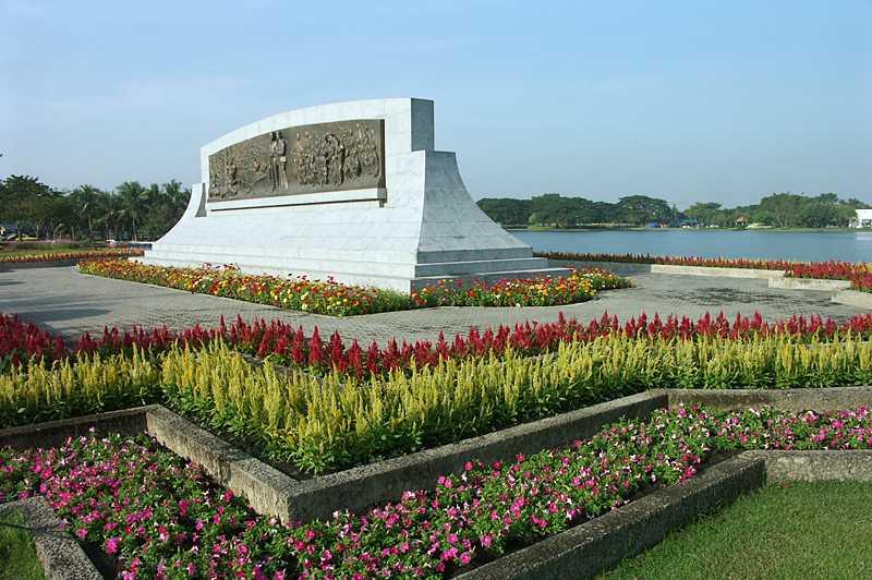 Flowers at King Rama IX Park Bangkok
