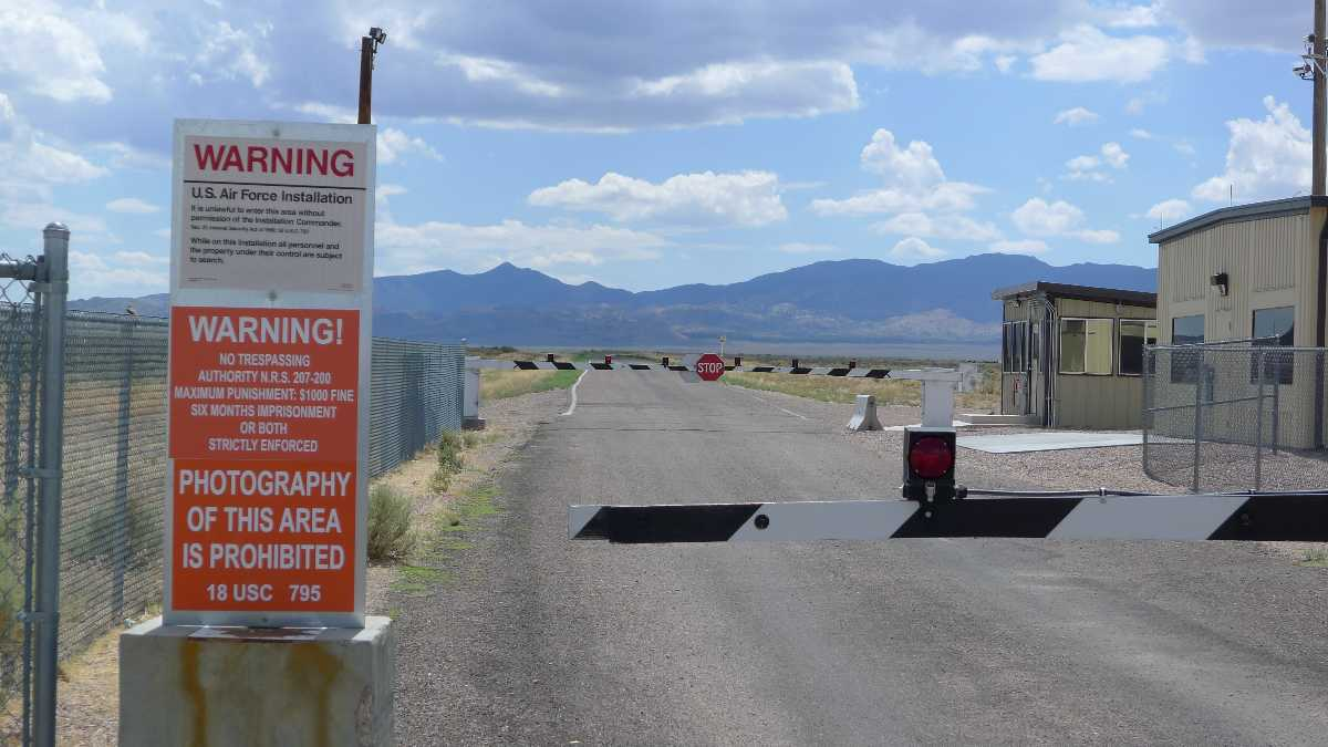 Area 51, Forbidden Places around the World
