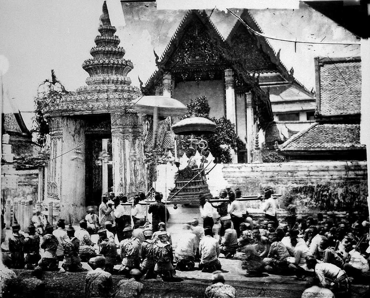 King of Siam at Wat Pho