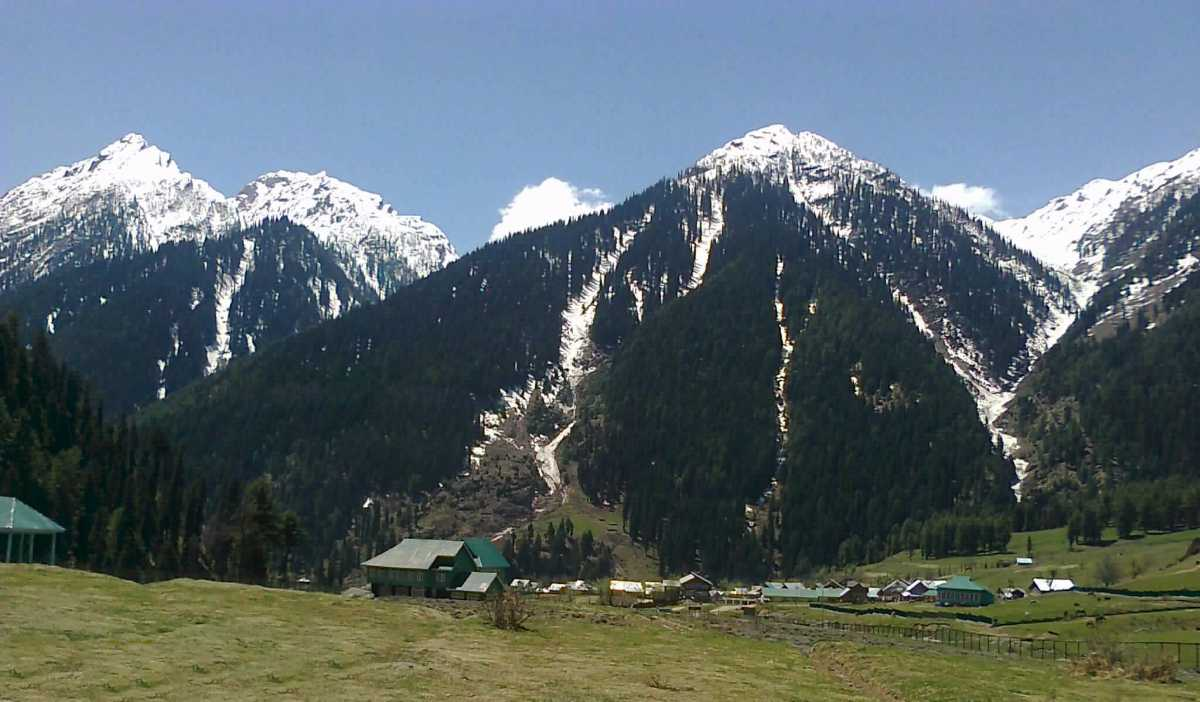Aru Valley, Jammu and Kashmir: location of Highway movie shoot
